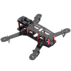 Replacement Carbon Fiber Quadcopter Frame Airframe - Black + Red