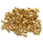 M3 Hex Copper Standoff Screw Pillars for PCB - Golden (100 PCS)