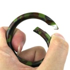 6cm Stainless Steel Outdoor Ring Buckle Carabiner - Camouflage