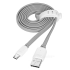 USAMS U-trans Series USB to Micro USB Data Sync / Charging Cable - Grey + White