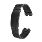 Stainless Steel Band Watchband for Pebble Steel 2 Smart Watch - Black