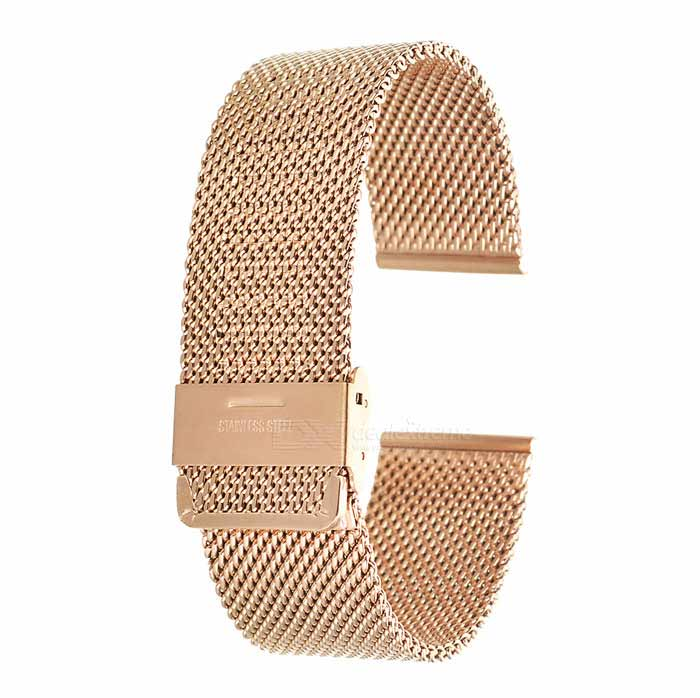 Correa de reloj de acero inoxidable para APPLE WATCH 42mm - rosa de oro
