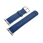 Micro Fiber Watch Band w/ Attachments for APPLE WATCH 38mm - Blue