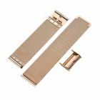 Watchband w/o Attachments for APPLE WATCH 38mm - Rose Gold