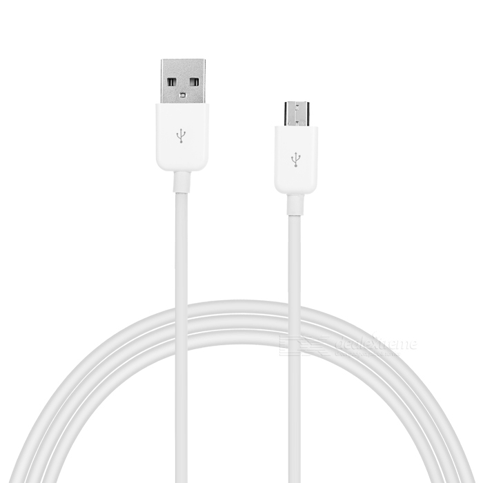 Universal USB 2.0 to Micro USB Charging Cable for Phones - White (3m)