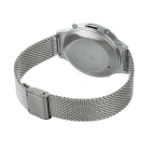 Bluetooth V4.0 Sports Waterproof Smart Bracelet - Silver