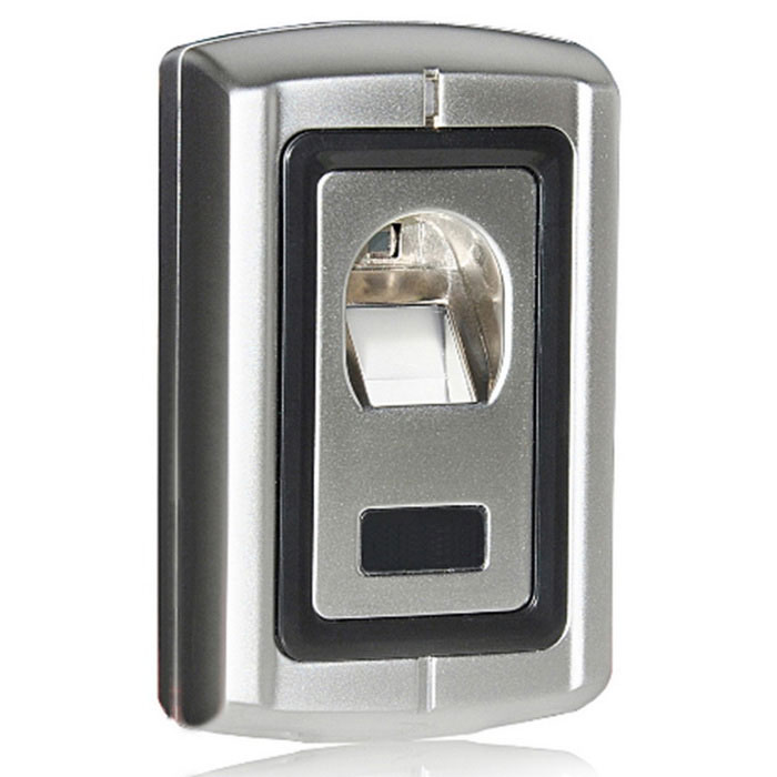 Fingerprint Standalone Access Control / Entrance Guard - Silver