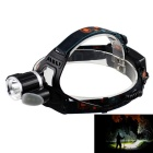 KINFIRE T6 + 6 x 5730 LED 1100lm 4-Mode White Light Headlamp w/ US Plug Charger (2 x 18650)