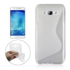 Angibabe Ultrathin S-Pattern Back Case for Samsung A8 - Transparent