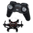 JJRC H18 Headless Mode 2.4GHz 4-CH R/C Mini Hexacopter Aircraft w/ Gyro & Lamp - Black + Orange