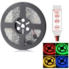 HML Waterproof 72W  RGB 5800lm 300-SMD 5050 LED Light Strip w/ HML Mini RGB Controller (12V, 5m)