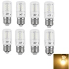 YouOKLight E27 5W 24-SMD 3000K LED Warm White Corn Light Bulb (8PCS)