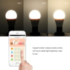 Semlamp SL-101 E27 7W ios / lampe à LED blanc chaud contrôle android - blanc
