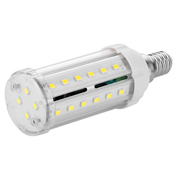 E14 9W 40-5630 SMD LED 800lm Cold White Light LED Corn Bulb (100~240V)