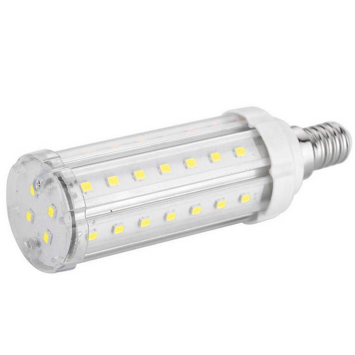E14 12W LED Corn Light Bulb Cold White 46-5630 SMD 1020lm (AC100~240V)