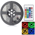 HML Waterproof 72W RGB Light Strip 300-SMD 5050 w/ 24-Key RGB Remote Controller (DC 12V / 5m)