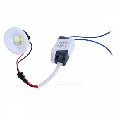 3W Mini COB LED Ceiling / Showcase Lamp / Spotlight White 6000K 240lm