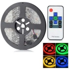 HML Vanntett 72W 300-LED RGB lys stripe m / 9-Key Mini Remote (5m)