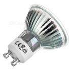 GU10 5W 44-LED Spotlight w/ Glass Cover Warm White 3200K 240lm (4PCS)