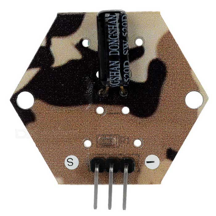 DIY Angle Sensor Ball Tilt Switch Module for Arduino - Camouflage