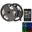 72W RGB 300-3528 SMD LED Light Strip w/ 20-Key Music LED Controller (DC 12V / 5m)