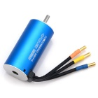 HJ 4-Pole 2250KV Brushless Motor for RC 1/8 Truck Car Boat - Blue