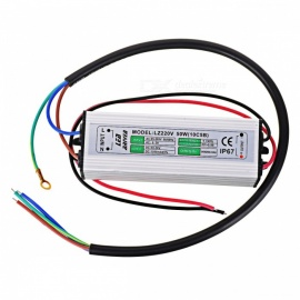 Waterproof IP65 50W 10S5P Integrated Constant Current Power LED Driver