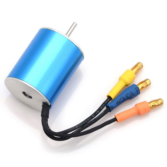 HJ High Performance 7200KV Sensorless Brushless Motor - Blue