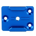 Aluminum Alloy Mount Adapter Base for Gopro Hero 4 / 3+ / 3 / 2 / 1 / 4 Session - Blue