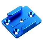 Mount Adapter Base for Gopro Hero 4 3+ 3 2 1 4 Session - Blue
