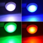 E27 10W RGB LED Ball Steep Light w/ Remote Control - Silver (85~265V)
