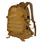 Outdoor Tactical 800D Oxford Cloth Shoulders Bag Backpack - Mud Color (45L)