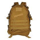 Tactical 800D oxford paño hombros bolso mochila - color de lodo (45L)