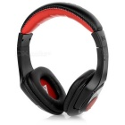 VYKON MQ44 3.5mm Gaming Headset Headphone w/ Microphone for Mobile Phone - Black + Red