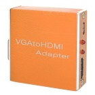 VGA Female to HDMI Female Converter w/ Charging / Audio Connecting / Indicator Light Function