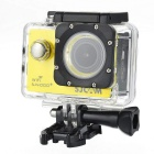 "SJCAM SJ4000 Wi-Fi Plus 1.5""LCD Novatek96660 170° Wide Angle Fisheye Lens FHD Sport Camera - Yellow"