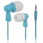 KEEKA KA-11 Universal 3.5mm Wired In-Ear Earphone for IPHONE / Samsung / HTC + More - Blue + White