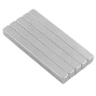 50*5*5mm Super Strong NdFeB Neodymium Magnets DIY Set - Silver (5PCS)