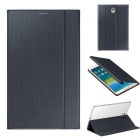 Fashion Smart PU Case w/ Stand/Auto Sleep/Awake for Samsung Galaxy Tab S 8.4 T700/T705C - Grey Black