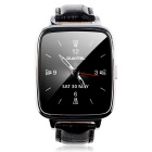 "OUKITEL A28 1.54"" IPS Bluetooth 4.0 Smart Watch w/ Heart Rate Monitor - Black + Silver"