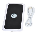 5V Qi Wireless Charger para Smartphones - Branco + Preto
