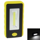 High Brightness 6W 180lm 6500K White COB LED Tool Light / Vehicle Inspection Lamp - Yellow + Black