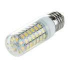 E27 6W 750lm 3500K 69-SMD 5730 LED Warm White Light Corn Lamp Constant Current (110V)