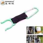 ZHISHUNJIA H-01 Outdoor Cycling / Mountaineering Beverage Bottle Buckle / Carabiner Holder - Green