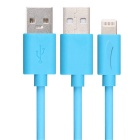 Yellowknife 8-Pin USB Data Charging Cable for IPHONE 6 Plus - Blue(2m)