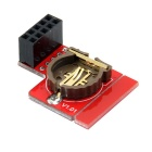 I2C RTC DS1307 RTC Module Real Time Clock Module for Raspberry Pi - Red