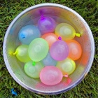 Water Fight Balloons for Children Outdoor Play - Multicolor (111PCS)