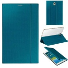 Fashion Smart PU Case w/ Stand, Auto Sleep / Awake for Samsung Galaxy Tab S 8.4 T700 / T705C - Blue