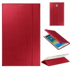 Fashion Smart PU Case w/ Stand, Auto Sleep / Awake for Samsung Galaxy Tab S 8.4 T700 / T705C - Red