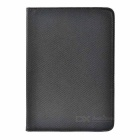 Rotary Protective TPU + PU Case Cover w/ Auto-Sleep & Stand for IPAD MINI / MINI 2 - Black